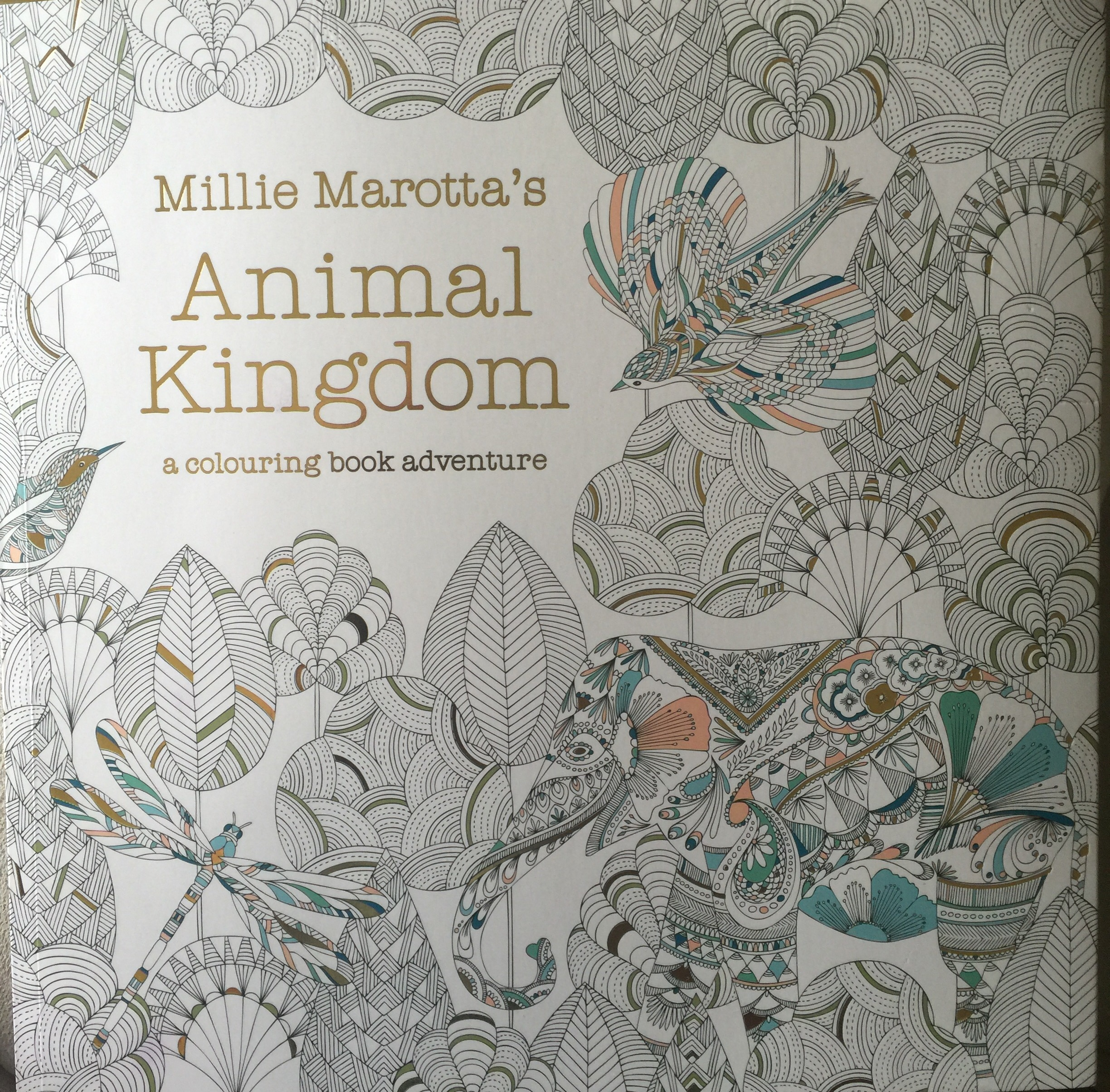 Coloring book animal kingdom - Cover