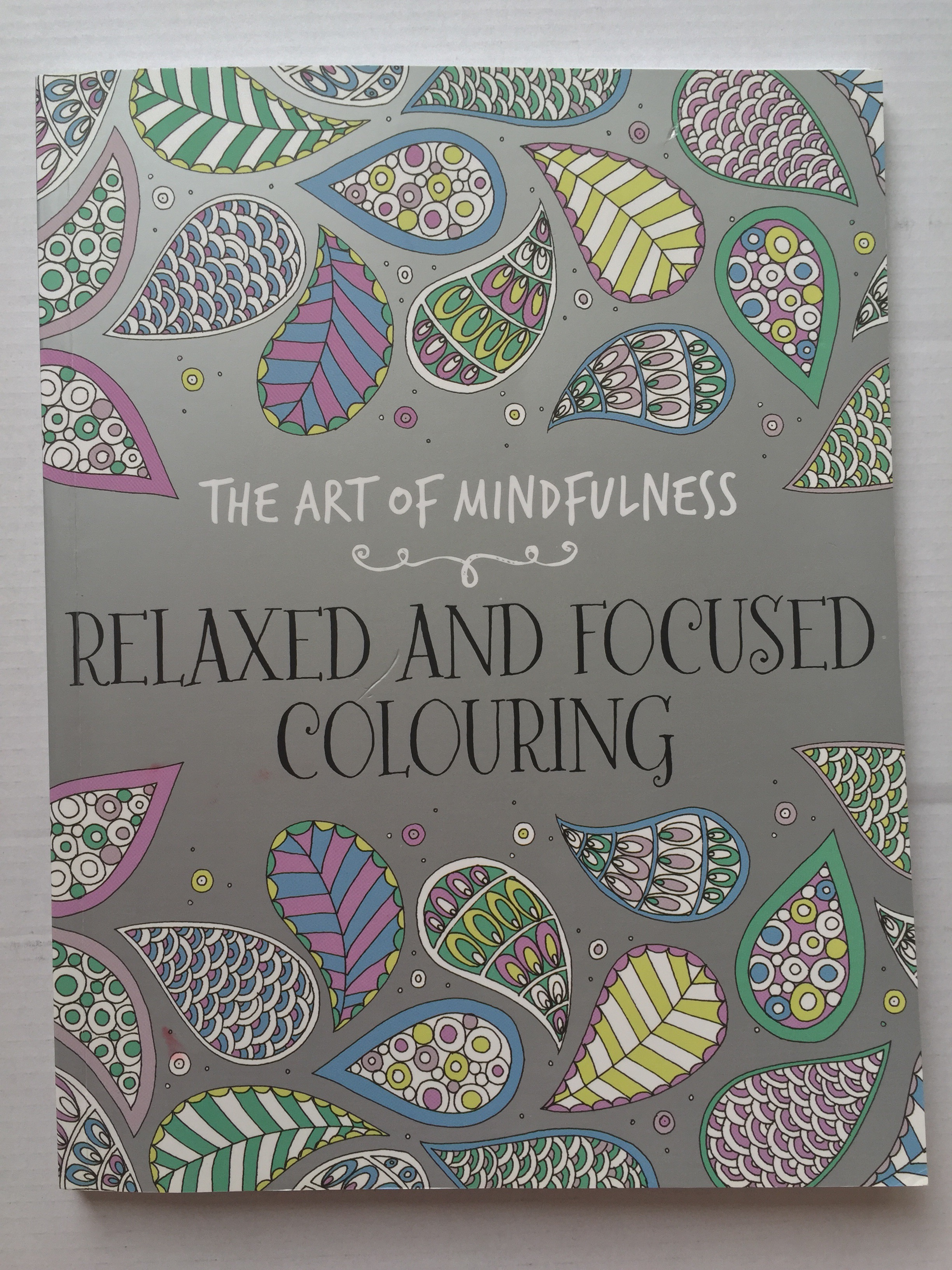 Adult Colouring Art Of Mindfulness Coloring