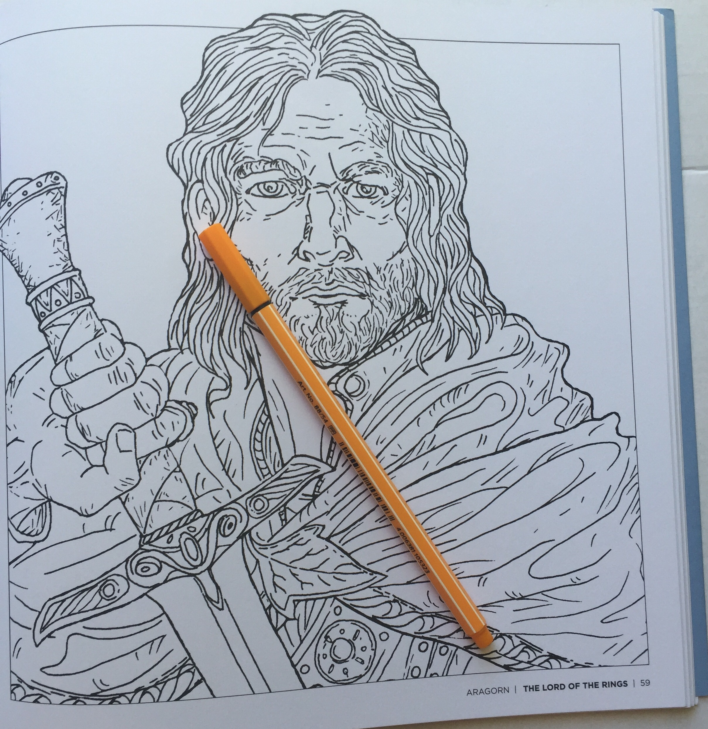 This is an image of Resource Tolkiens World Coloring Book