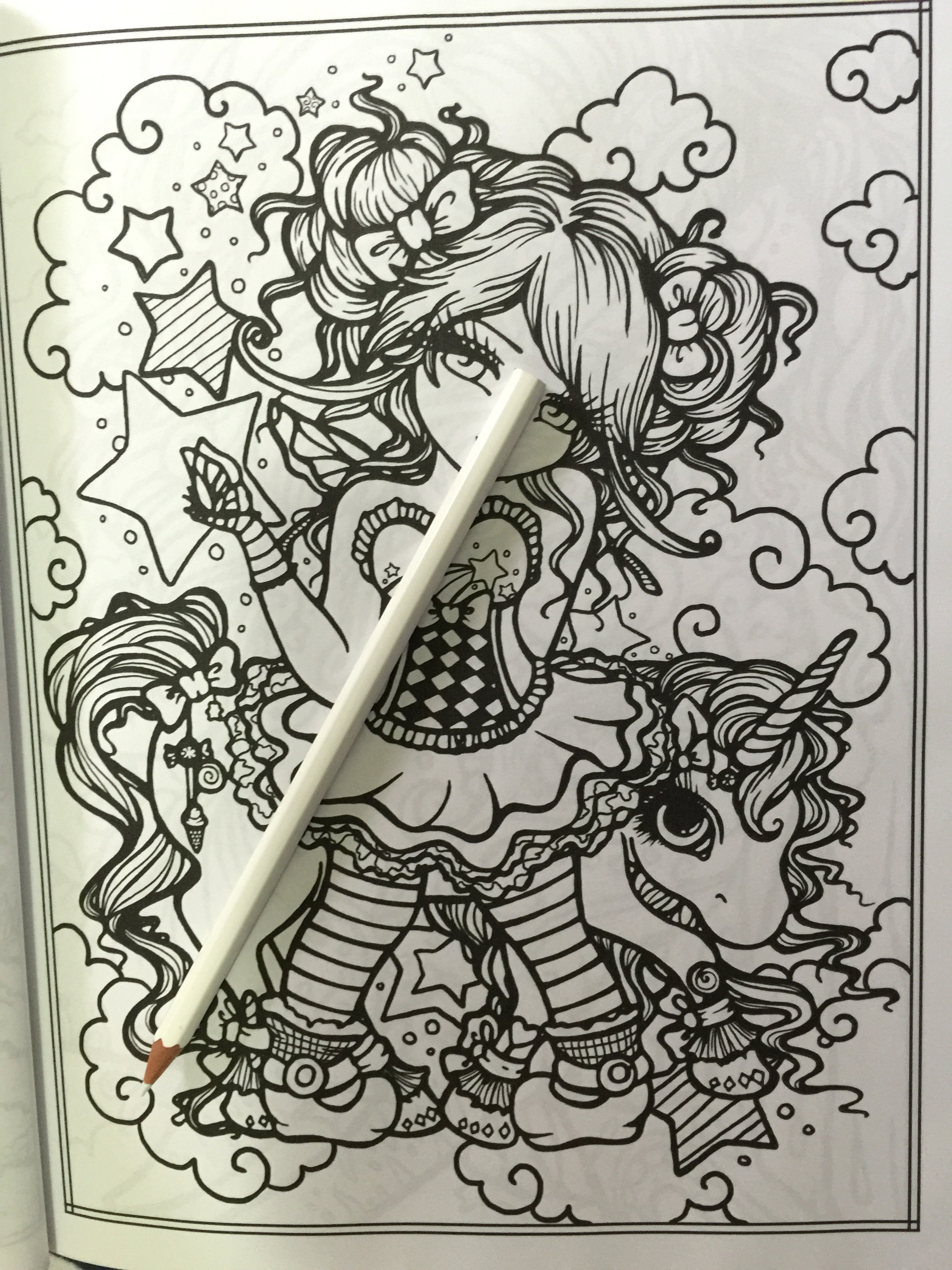 Art Therapy Coloring Book