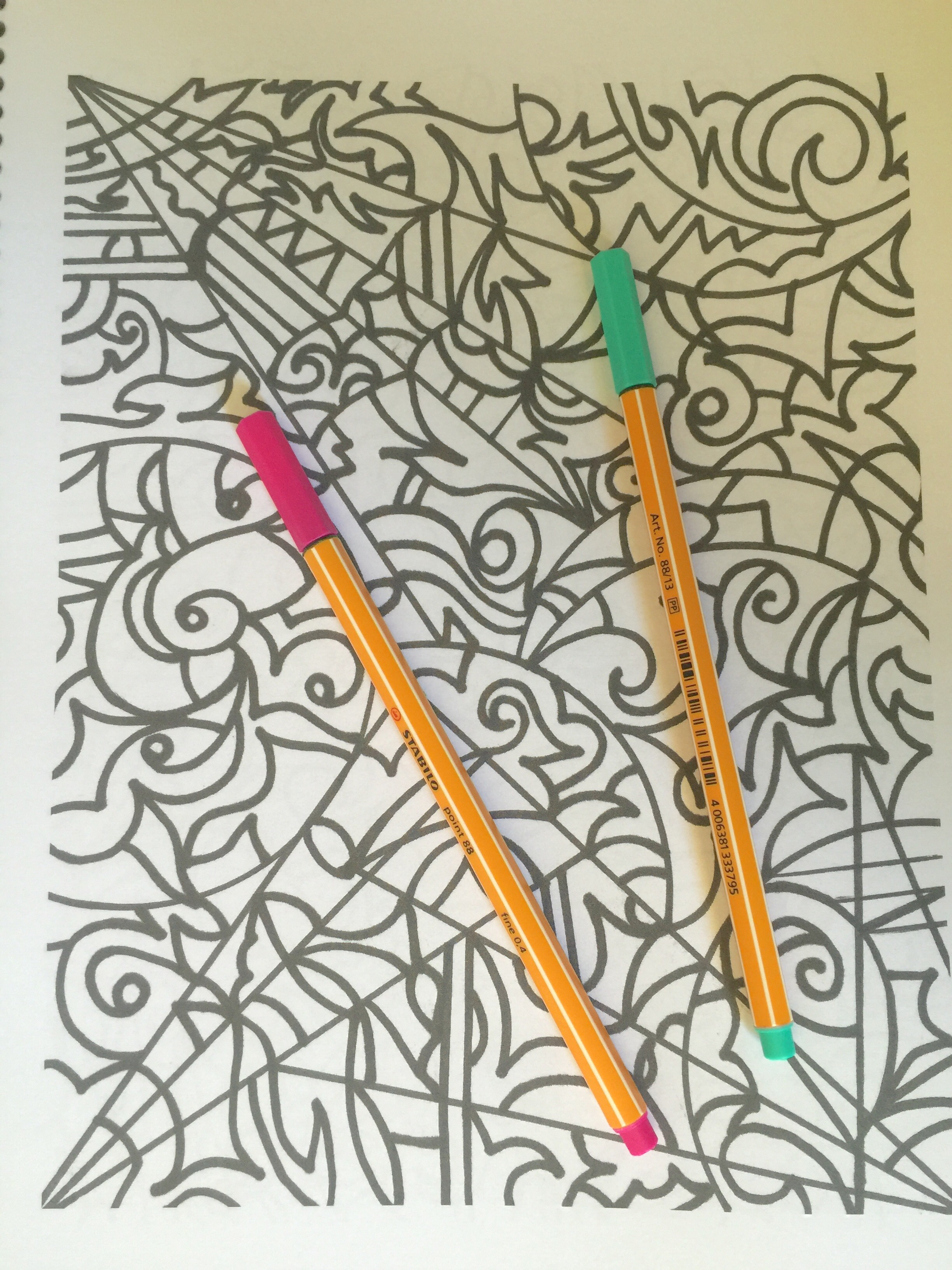 coloring adult colouring pencils crayons art therapy stress relief colored coloured colouring coloring