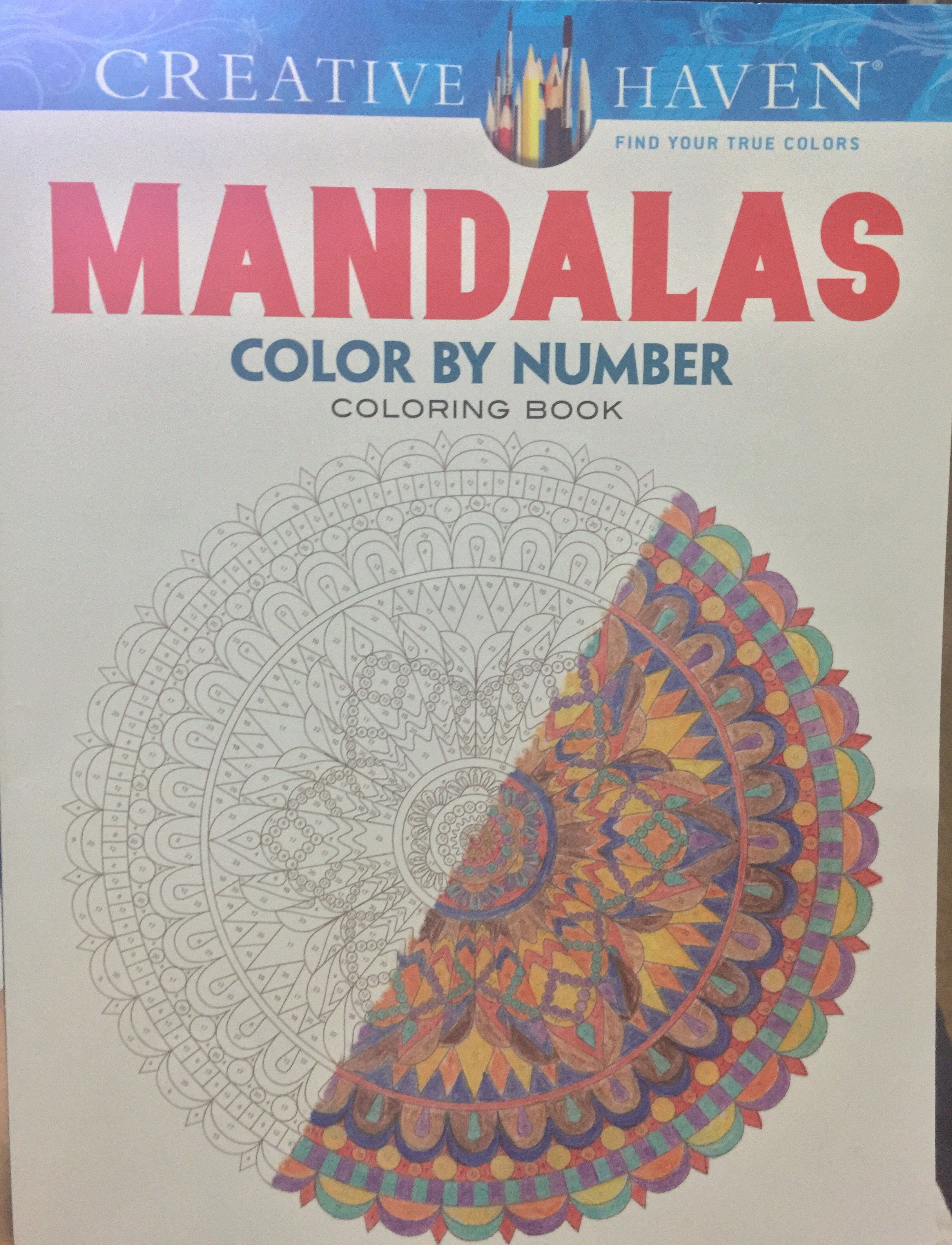 Creative Haven Mandala Color By Numbers Chronically