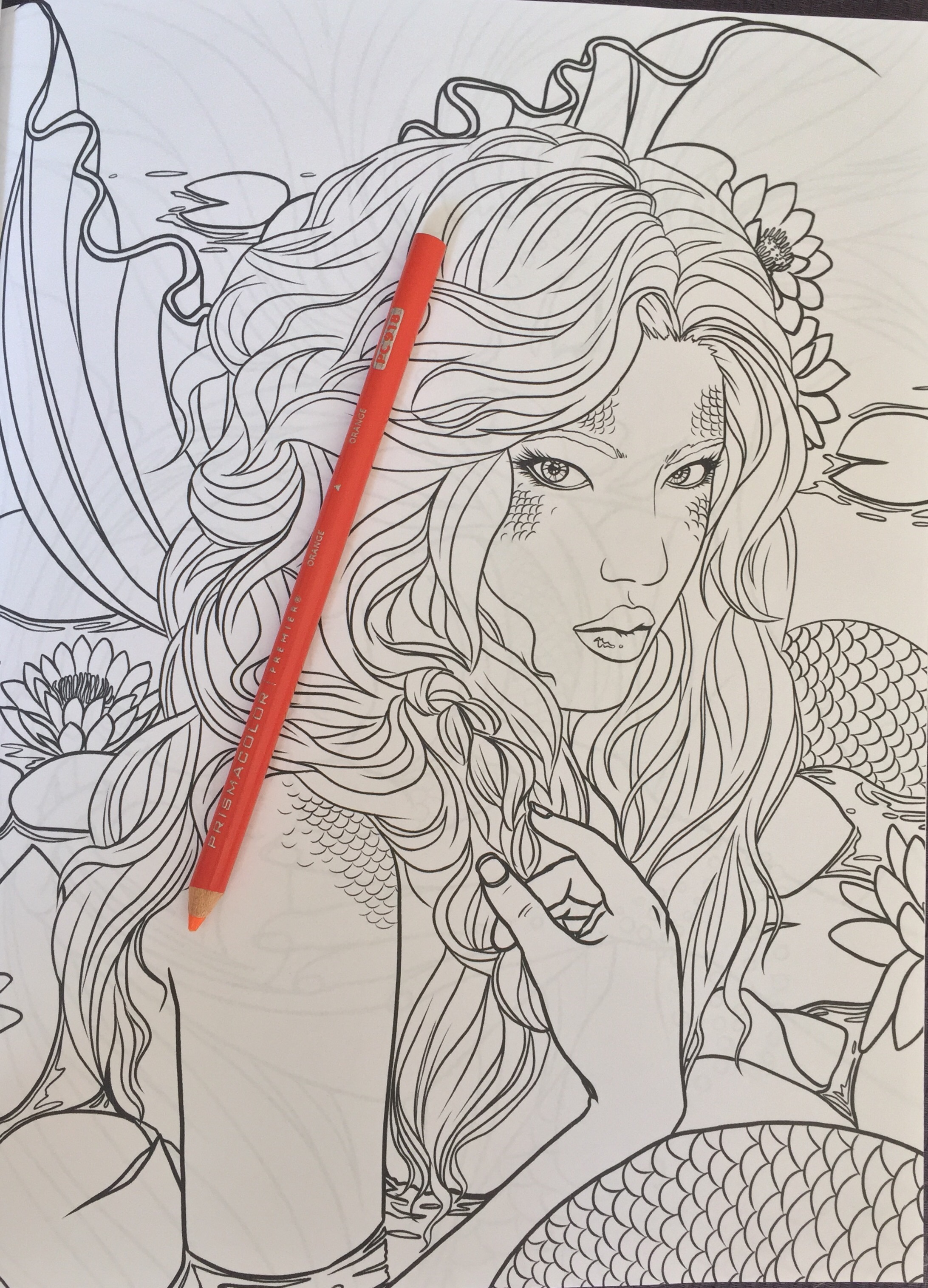 Fairy art coloring book by selina fenech - Fantasy Coloring Completed Pictures Colouring Adult Colour Color Pencil Art Therapy Stress Relief Selina Fenech
