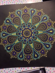 colouring black backgrounds art therapy coloring stress management  colour color