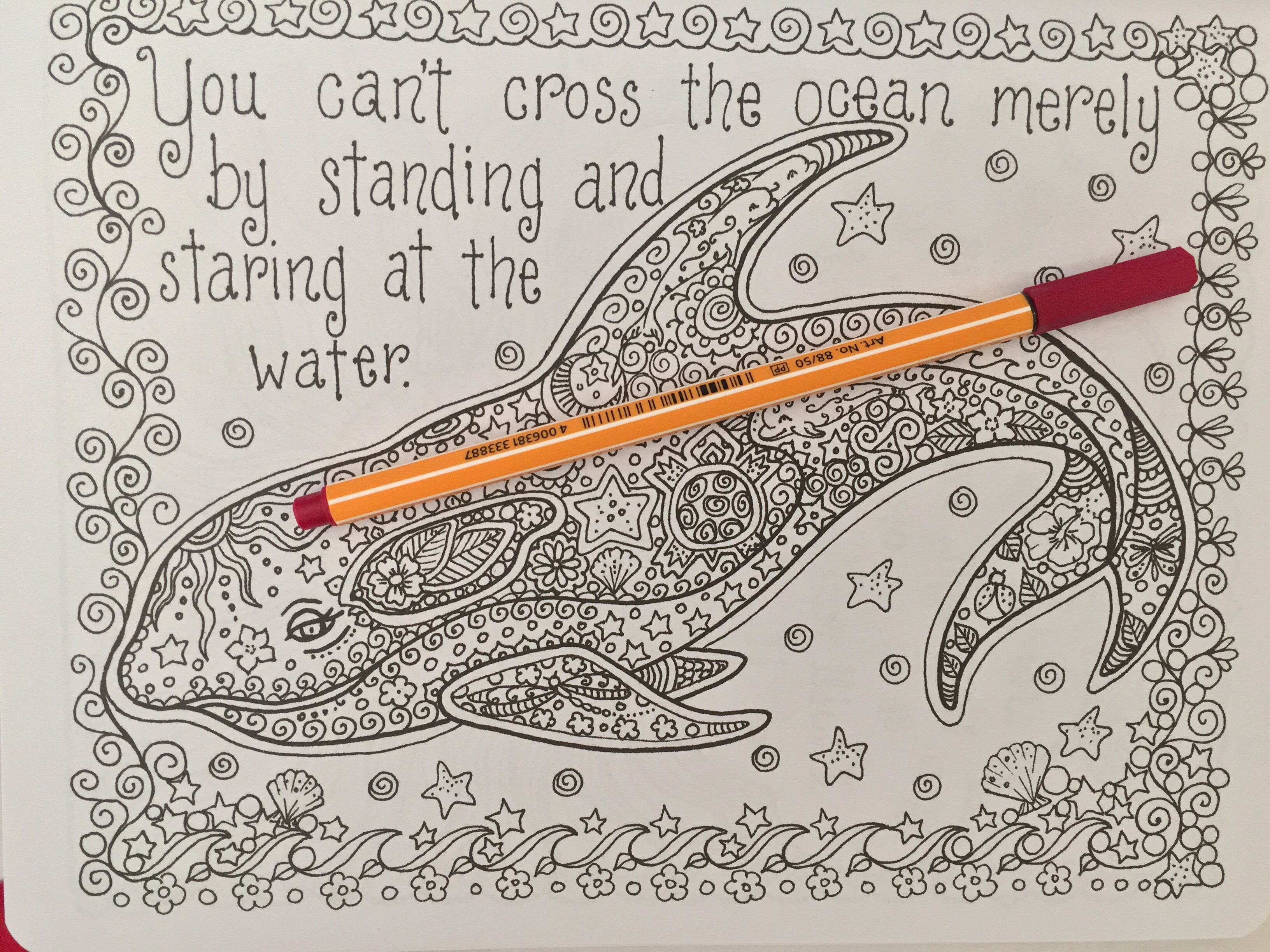 Posh coloring book art therapy for fun relaxation -  Coloring Inspirational Quotes Adult Colouring Therapy Stress Relief Art Therapy Managament Colour Color Pencils Reviews Books