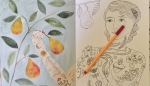 colouring adult reviews art therapy book stress management pencils completed