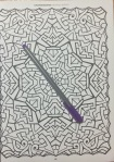 geometric coloring adult patterns book mandala reviews colour pencils art therapy mandala stress management colouring color