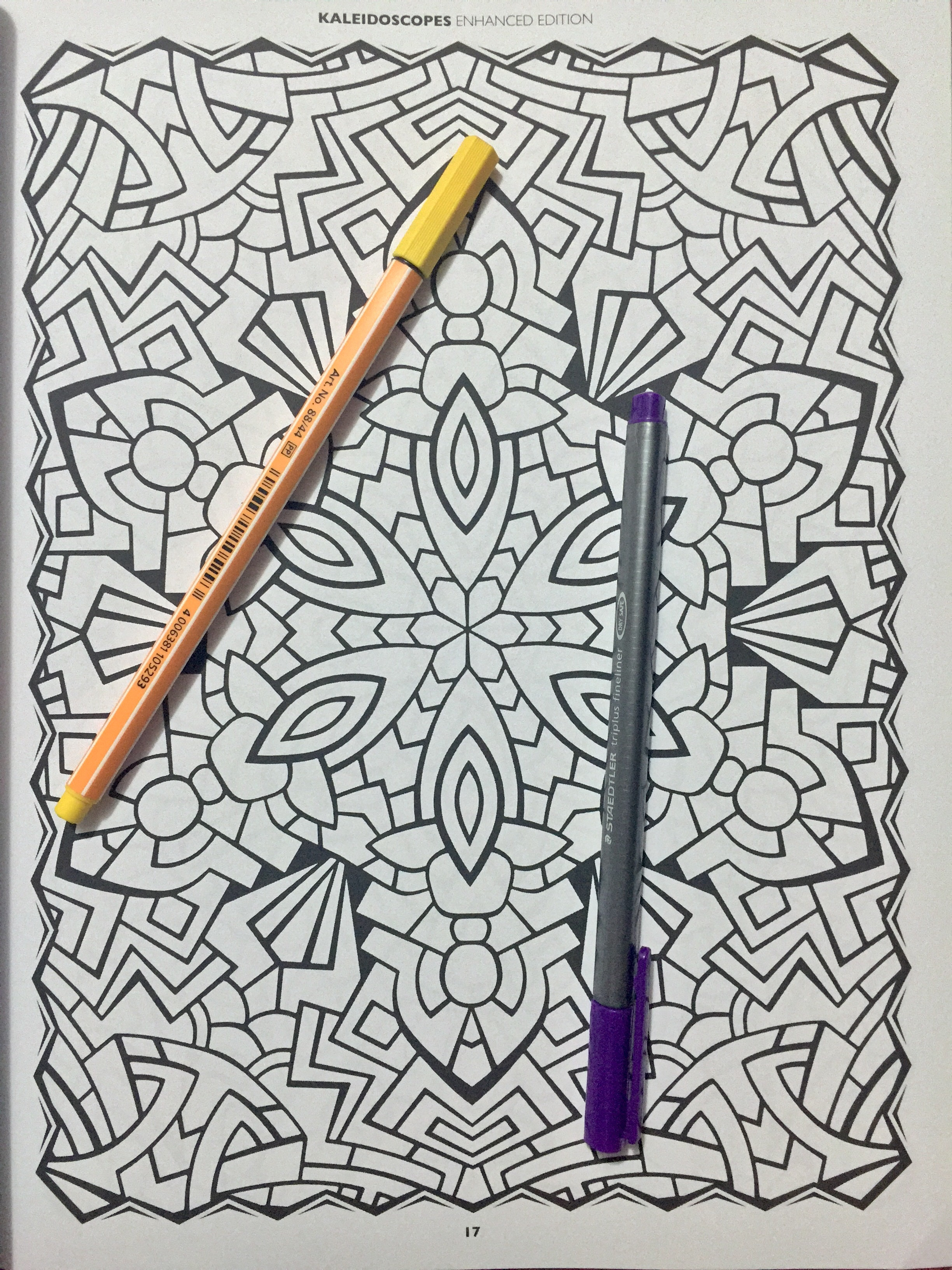 Colourtation anti stress colouring book for adults volume 1 - An Anti Stress Colouring Pens Colour Therapy An Anti Stress Colouring Book Review Pattern Adult
