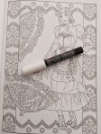 steampunk coloring pages books review marty noble colouring art therapy adult colour therapy color book reviews