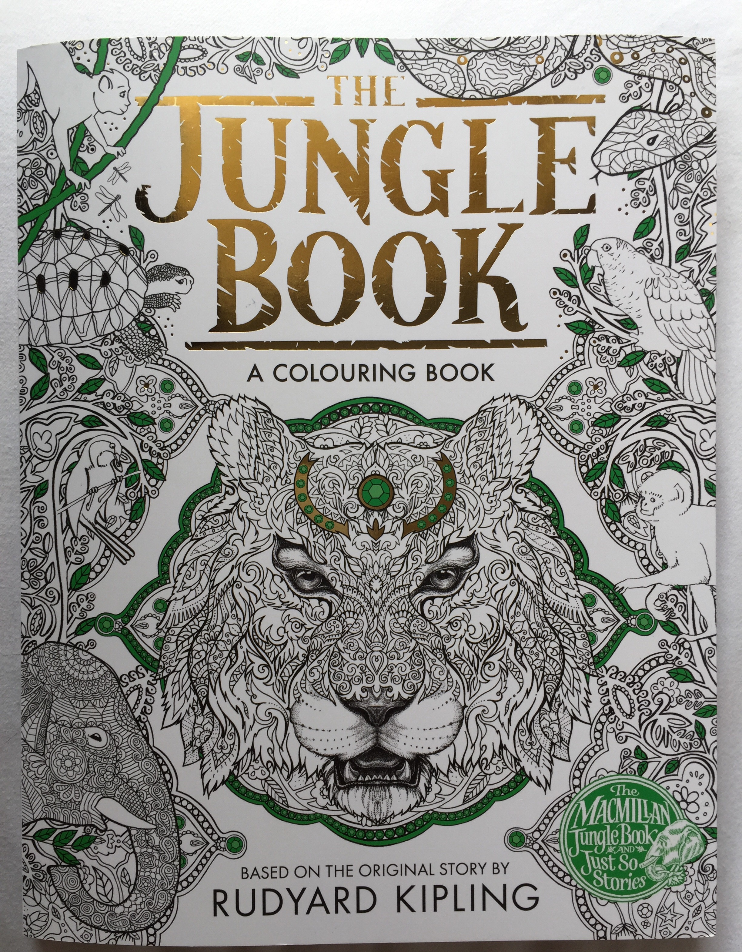 Disney coloring therapy - View Images The Jungle Book A Colouring Chronically Batgirl