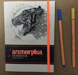 colouring adult animorphia notebook coloring art therapy stationary colour pencils pens animals color stress management kerby rosanes doodles
