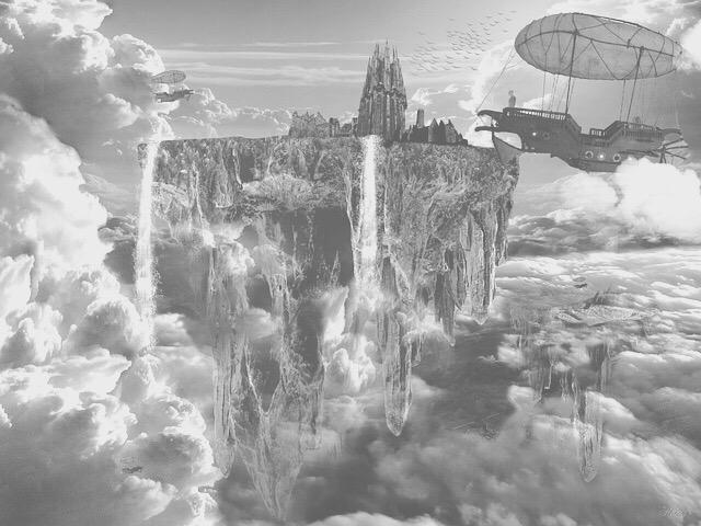 FantasyMystical Imagery Greyscale