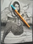 coloring greyscale fantasy images colour art therapy colouring color markers grayscale reviews printables