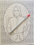 color adult art therapy harry potter colouring stress pencils coloring colour finished fantasy