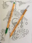 color colouring adult relaxing art therapy pencils coloring stress relief completed calming patterns