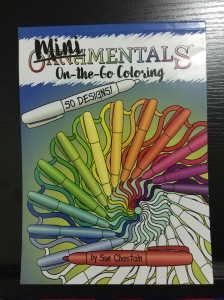 MiniMENTALS adult coloring book patterns cover