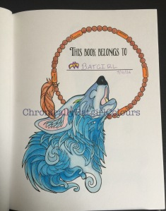 wolf coloring pages book katy lipscomb cover completed review