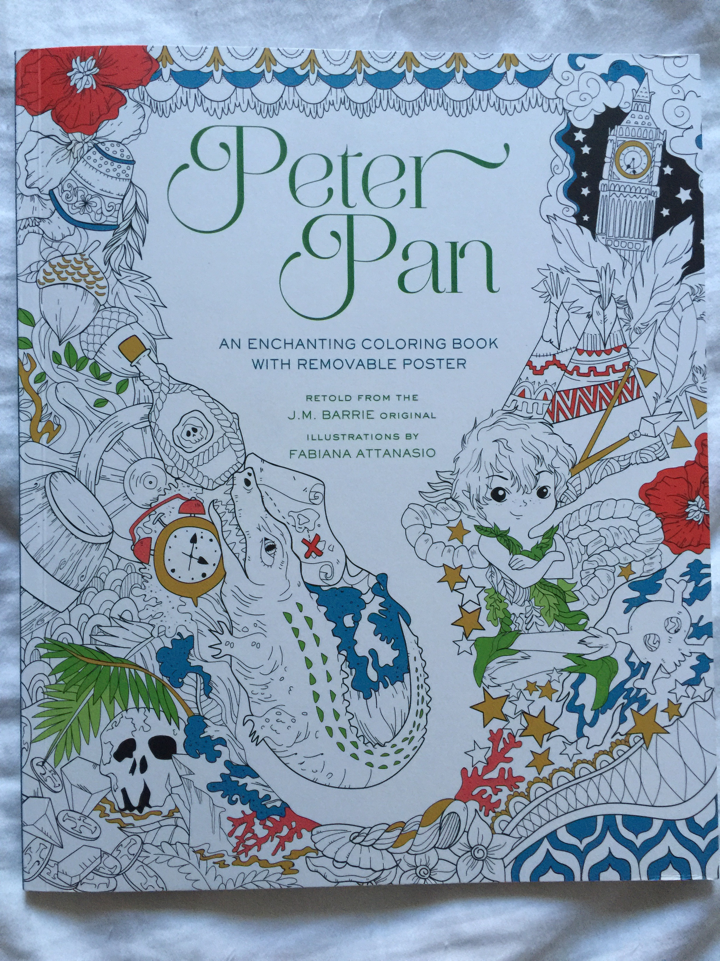 Peter Pan Coloring Book | Chronically Batgirl Colours