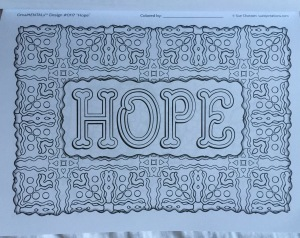 inspiration coloring book adults feel good words