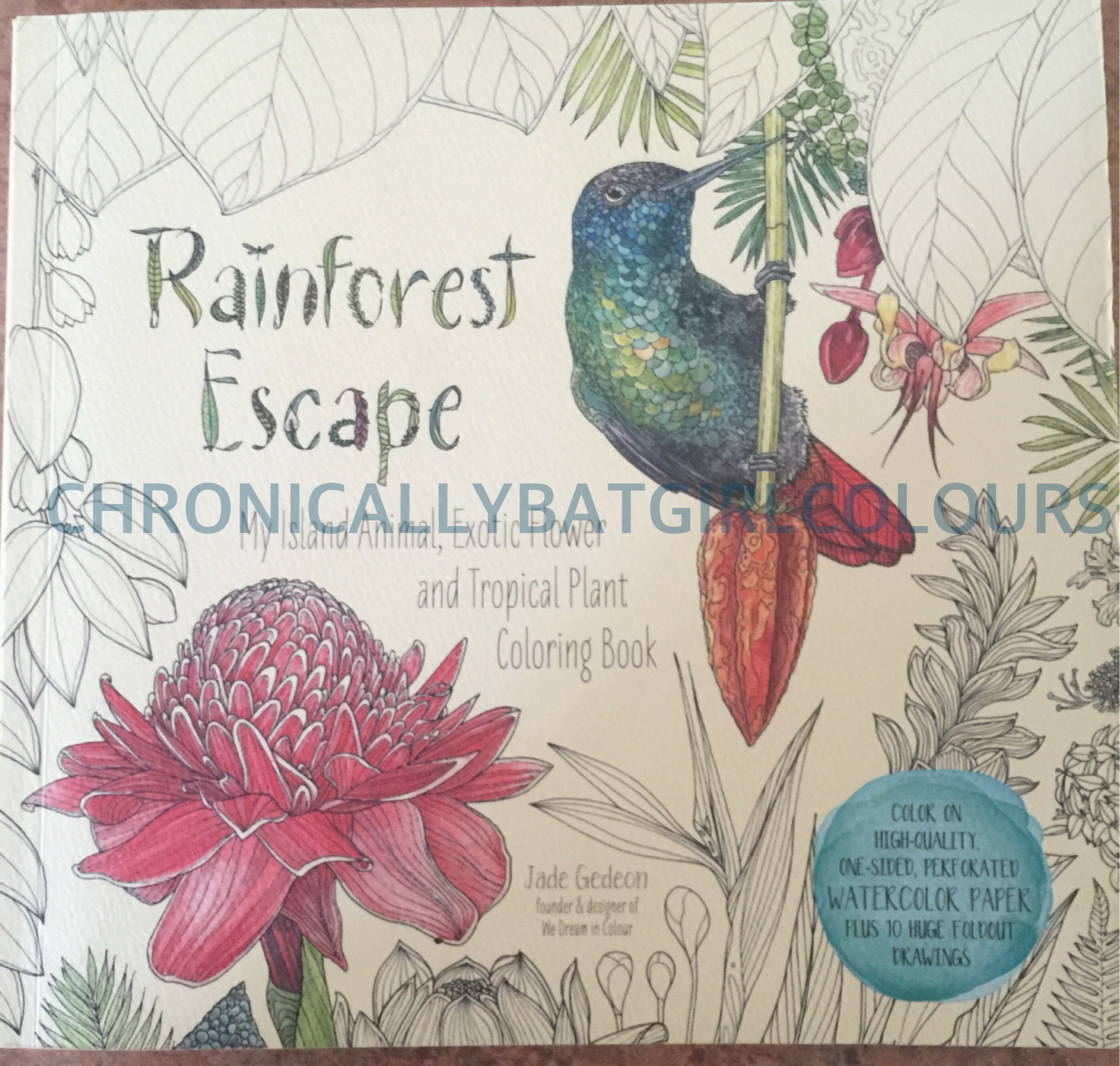 Rainforest Escape – Chronically Batgirl Colours