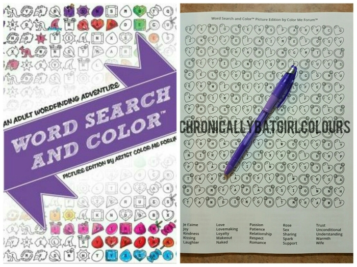 Word Search And Color
